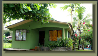 simple 2 and 12 bedroom house in downtown puerto jimenez